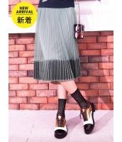 ガーベラレディース フレアスカート 膝丈スカート 韓国風 プリーツ コーデアイテム mb14644-1