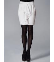 ガーベラレディース ラップスカート タイトスカート ミニスカート エレガント ぺプラム裾 着やせ mb14679-1