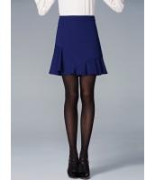 ガーベラレディース フレアスカート ミニスカート エレガント 非対称 ぺプラム裾 mb14698-1