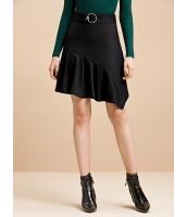 ガーベラレディース コーデアイテム イレギュラー ぺプラム裾 タイトスカート ミニスカート mb15385-1