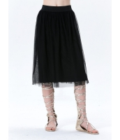 ガーベラレディース コーデアイテム ギャザースカート 膝丈スカート mb15402-1