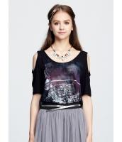 ガーベラレディース Tシャツ・カットソー 半袖 mb15409-1