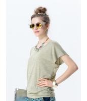 ガーベラレディース 背中リボン Tシャツ・カットソー 半袖 mb15410-2
