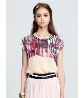 ガーベラレディース Tシャツ・カットソー 半袖 mb15442-1