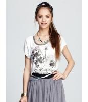 ガーベラレディース Tシャツ・カットソー 半袖 mb15443-1
