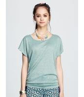 ガーベラレディース 背中リボン Tシャツ・カットソー 半袖 mb15449-1