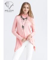 ガーベラレディース シンプル ニットセーター プルオーバー Tシャツ・カットソー 長袖 mb15526-1