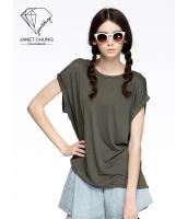 ガーベラレディース エスニック調 カジュアル 個性的 エレガント Tシャツ・カットソー 半袖 mb15539-1