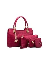 レディースバッグ ショルダーバッグ ハンドバッグ クラッチバッグ セカンドバッグ シンプル 親子バッグ 大容量 mb15842-2