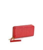 レディースバッグ クラッチバッグ セカンドバッグ ダブルファスナー 大容量 お財布 エナメルPU mb15843-1