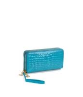 レディースバッグ クラッチバッグ セカンドバッグ ダブルファスナー 大容量 お財布 エナメルPU mb15843-2