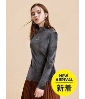 ガーベラレディース Tシャツ 長袖 mb16066-1