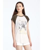 ガーベラレディース Tシャツ 半袖 mb16328-1