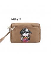 Mサイズ レディースバッグ クラッチバッグ・セカンドバッグ カートン風 化粧品入り 二層構造 便利 qa10003-5