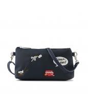 レディースバッグ 2wayバッグ クラッチバッグ セカンドバッグ ショルダーバッグ 可愛い 刺繍入り カートン風 qa10358-2