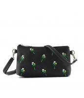 レディースバッグ 2wayバッグ クラッチバッグ セカンドバッグ ショルダーバッグ 可愛い 刺繍入り カートン風 qa10358-5