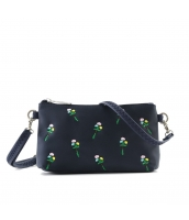 レディースバッグ 2wayバッグ クラッチバッグ セカンドバッグ ショルダーバッグ 可愛い 刺繍入り カートン風 qa10358-6