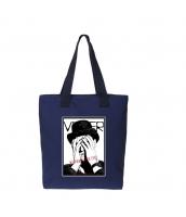 ショッピングバッグ レディースバッグ トートバッグ ハンドバッグ 男女兼用バッグ エコバッグ キャンバス 帆布 大容量 文芸調 qa10413-15