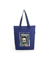ショッピングバッグ レディースバッグ トートバッグ ハンドバッグ 男女兼用バッグ エコバッグ キャンバス 帆布 大容量 文芸調 qa10413-2