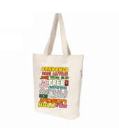 エコバッグ レディースバッグ トートバッグ ハンドバッグ 男女兼用バッグ エコバッグ キャンバス 帆布 文芸調 ショッピングバッグ シンプル カートン風 qa10414-19