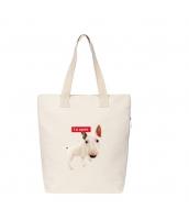 エコバッグ レディースバッグ トートバッグ ハンドバッグ 男女兼用バッグ エコバッグ キャンバス 帆布 文芸調 ショッピングバッグ シンプル カートン風 qa10414-4