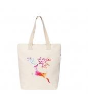 ショッピングバッグ レディースバッグ トートバッグ ハンドバッグ 男女兼用バッグ エコバッグ キャンバス 帆布 文芸調 シンプル 清楚 カジュアル 大容量 qa10428-17