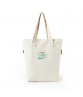 ショッピングバッグ レディースバッグ トートバッグ ハンドバッグ 男女兼用バッグ エコバッグ 文芸調 大容量 シンプル キャンバス 帆布 qa10453-4
