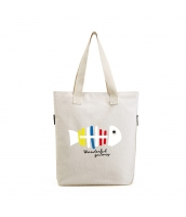 ショッピングバッグ レディースバッグ トートバッグ ハンドバッグ 男女兼用バッグ エコバッグ キャンバス 帆布 学園風 シンプル キャンバス 帆布 qa10455-3