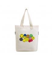 エコバッグ レディースバッグ トートバッグ ショルダーバッグ ハンドバッグ 2wayバッグ 笑顔 清楚 キャンバス 帆布 文芸調 シンプル ショッピングバッグ qa10509-1