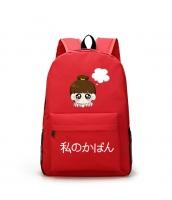 男女兼用バッグ バックパック リュックサック レディースバッグ メンズバッグ 大容量 旅行 カートン風 学園風 qa10538-2