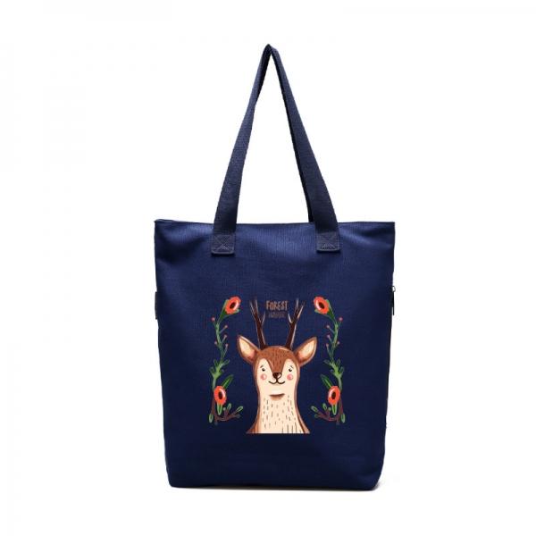 エコバッグ・ショッピングバッグ レディースバッグ トートバッグ ショルダーバッグ ハンドバッグ 2wayバッグ 清楚 キャンバス 帆布 文芸調 qa10548-3