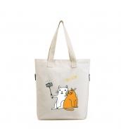 エコバッグ レディースバッグ トートバッグ ショルダーバッグ ハンドバッグ 2wayバッグ 猫柄 キャンバス 帆布 文芸調 ショッピングバッグ qa10586-1