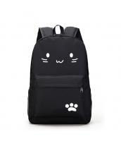 男女兼用バッグ バックパック リュックサック レディースバッグ メンズバッグ シンプル 猫柄 学園風 カジュアル 旅行 大容量 qa10604-1