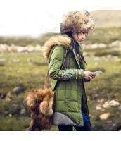 ガーベラレディース フード付き 刺繍 ファー襟 ダウンコート ミディアム丈 rp10001-1