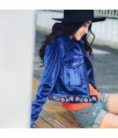 ガーベラレディース 刺繍 長袖 トップス コーデアイテム スカジャン ステンカラージャケット rp10326-1