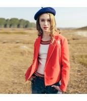 刺繍 ウール フリースジャケット ステンカラージャケット rp10410-2