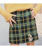 ガーベラレディース タイトスカート ミニスカート 刺繍入り rp10740-1