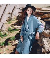 ガーベラレディース フリースコート トレンチコート ロングコート 刺繍入り rp11333-1