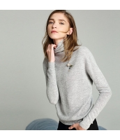 ガーベラレディース ニット・セーター セーター 長袖 オフタートル rp11405-1