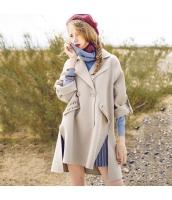 ガーベラレディース フリースコート ミディアムコート 刺繍入り rp11414-1