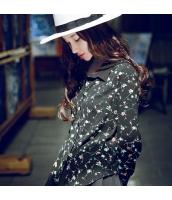 ガーベラレディース シャツ 長袖 コーディアイテム 花柄 rp11439-1