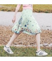 ガーベラレディース プリーツスカート ミニスカート シフォン 春物 rp11632-1