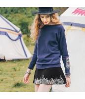 ガーベラレディース フレアスカート ミニスカート 刺繍入り rp11639-1