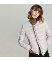 ガーベラレディース ダウンジャケット ノーカラー 軽い 薄い 暖かい rp11643-1