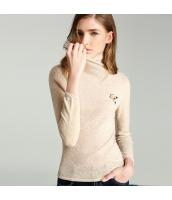ガーベラレディース ニット・セーター セーター 長袖 タートルネック ウール rp11751-1