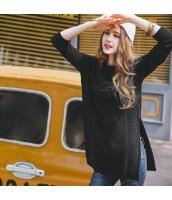 ガーベラレディース ニット・セーター セーター 長袖 スリット入り 刺繍入り ゆったり 春物 rp11827-1