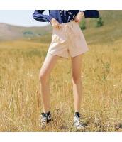 ガーベラレディース ショートパンツ ホットパンツ ゆったり 刺繍入り 春物 rp11894-1