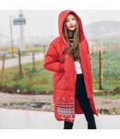 ガーベラレディース ダウンコート ロングコート フード付き 刺繍入り 冬物 rp11970-1