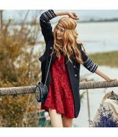 ガーベラレディース フリースコート ミディアムコート 着やせ 刺繍入り 秋物 rp11994-1