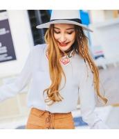 ガーベラレディース シャツ 長袖 刺繍 ホロー コーデアイテム ハイロー rp9313-1